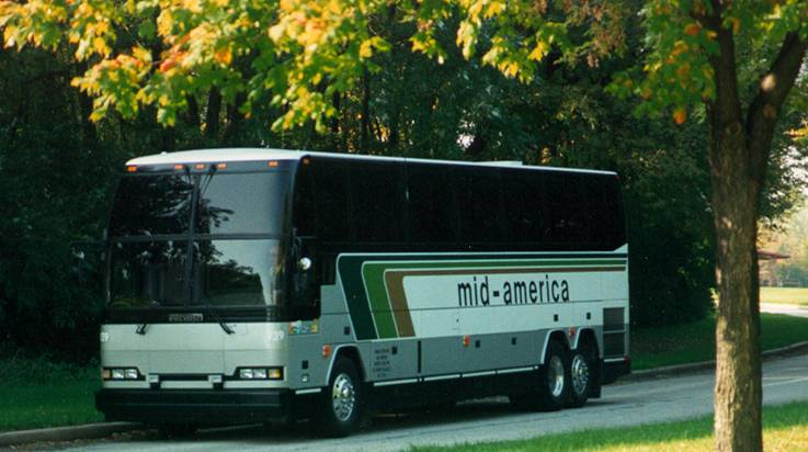 Mid America Bus Company Chicago Bus Motor Coach